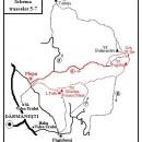 De la Plopu (Dărmăneşti) la Sch. Sf. Ilie şi Lacul Pufu