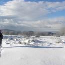 În Munții Vrancei, pe la Cetatea Rakoczi (prima zi de iarnă, … )