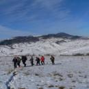 Drumeție de iarnă pe dealurile Viișoarei – între Caraclău/Tazlău și Trotuș