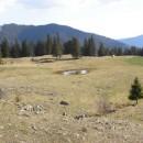 Din valea Ciobănușului pe Muntele Cristeș (Munții Ciucului) pe la Lacul Șolintarului