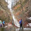 O cascadă nouă-nouță, veche de când lumea, pe valea Șupanului (Munții Ciucului) !