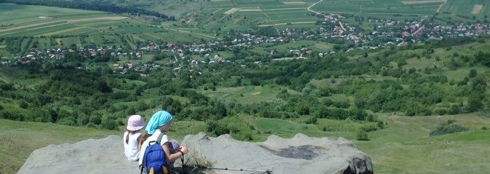 Microcircuit pe dealurile … vulcanice din Subcarpații Tazlăului