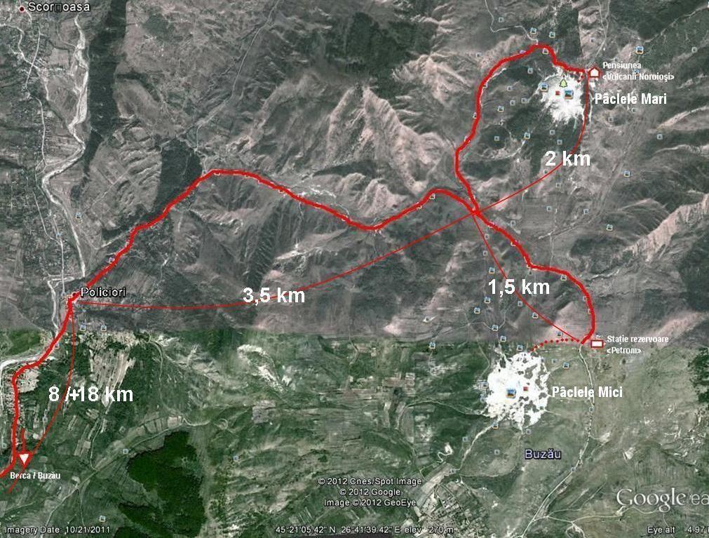 La Vulcanii Noroiosi De La Berca Subcarpaţii Buzăului Munte Si